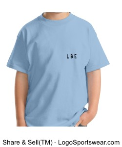 ONE LOVE LOGO Youth T light blue Design Zoom