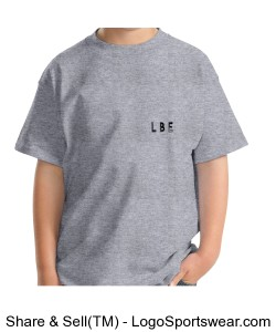 ONE LOVE LOGO Youth T grey Design Zoom